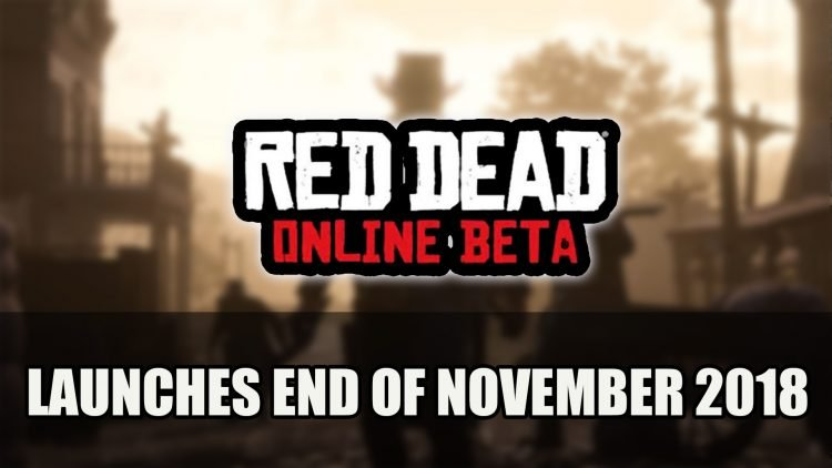 Red Dead Online Beta Launches End of November