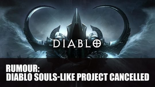 Diablo III Second Expansion and a Separate Dark Souls-Like Project Cancelled by Blizzard