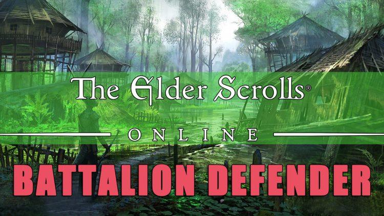 Battalion Defender: ESO Sets Guide – Life Support