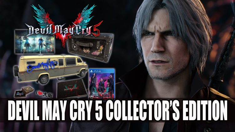 Devil May Cry 5 Collector's Edition Now Listed on Amazon
