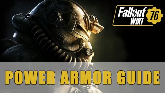 Fallout 76: Power Armor Build Guide (Heavy Gunner)