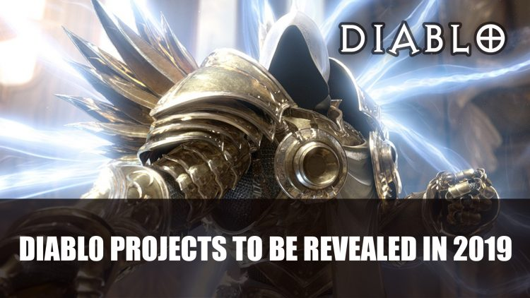 Diablo Team Working on Multiple Projects to Be Revealed Next Year