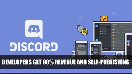 Discord Now Shares They Will Let Developers Self-Publish Games and Receive 90% of Revenue