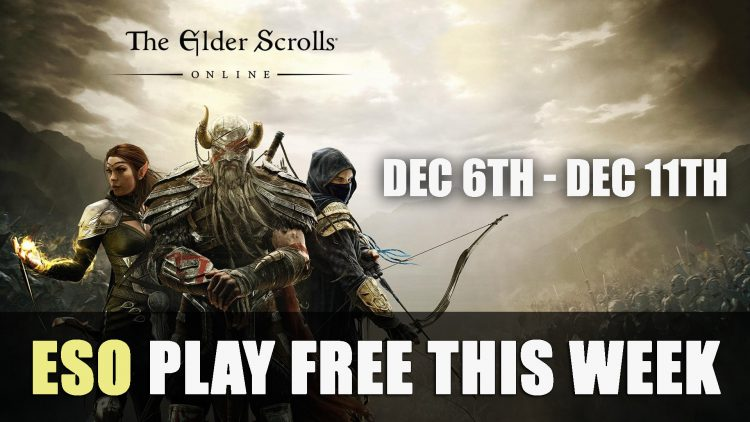 Elder Scrolls Online is Free to Play From Dec 6th to Dec 11th