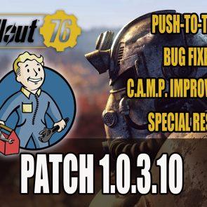 Fallout 76 Patch 1 0 3 10 Details Best Headphones