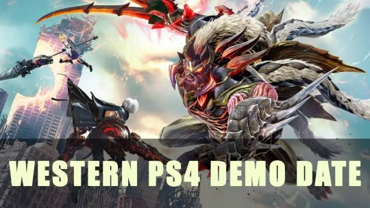 God Eater 3: Announced Western PS4 Demo Date