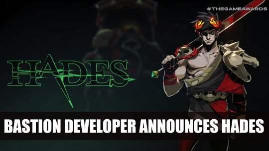 Bastion Developer Announces New Game Hades at TGA 2018