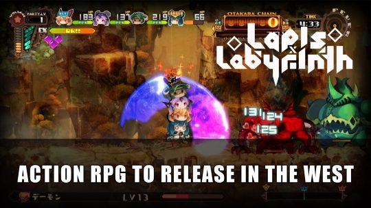 NIS Announce Action RPG Lapis Labyrinth Western Release