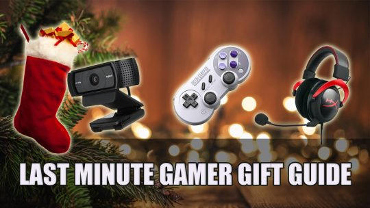Last Minute Gamer Gift Guide