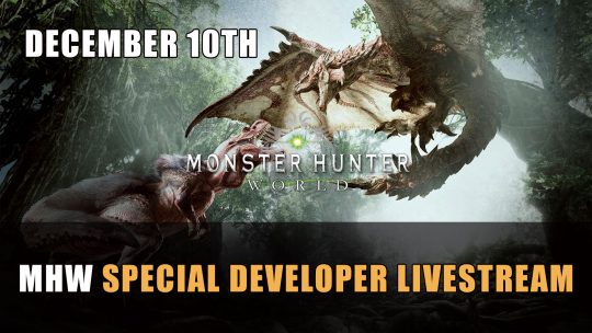 Monster Hunter World Special Developer Update