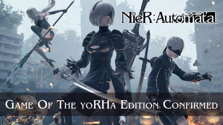 NieR: Automata Game of the YoRHa Edition Confirmed by Yoko Taro
