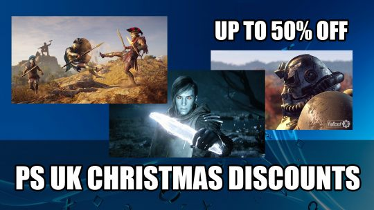 Playstation Store UK Christmas Weekend Discounts