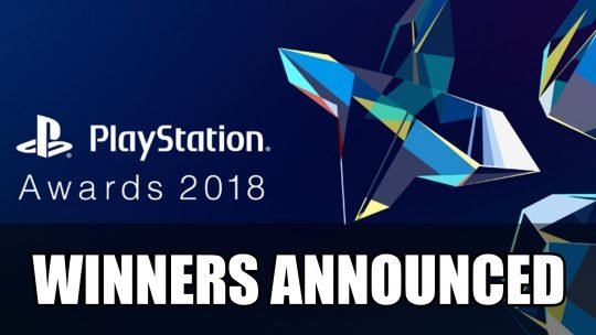 Playstation Awards 2018 Winners Announced