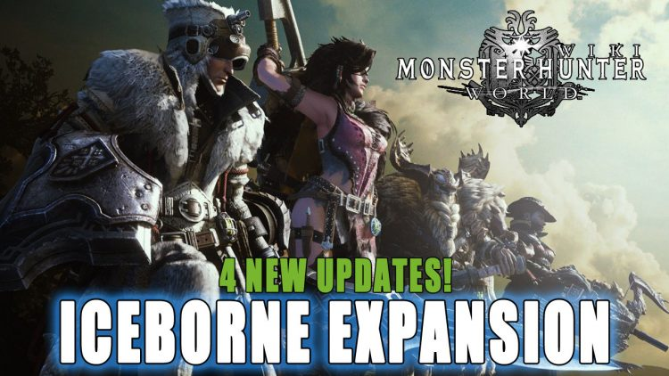 Monster Hunter World Iceborne Expansion Announced!