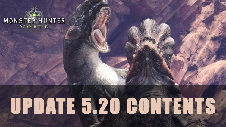 Mhw Update 520 Contents Fextralife