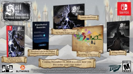 Salt and Sanctuary goes Physical: Drowned Tome Edition and new Developer Map
