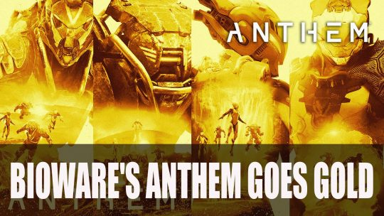 Bioware's Anthem Goes Gold