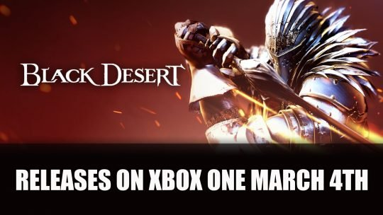 Black Desert Releases on Xbox One on March 4th 2019
