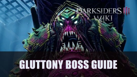 Darksiders 3: Gluttony Boss Guide (Apocalyptic)