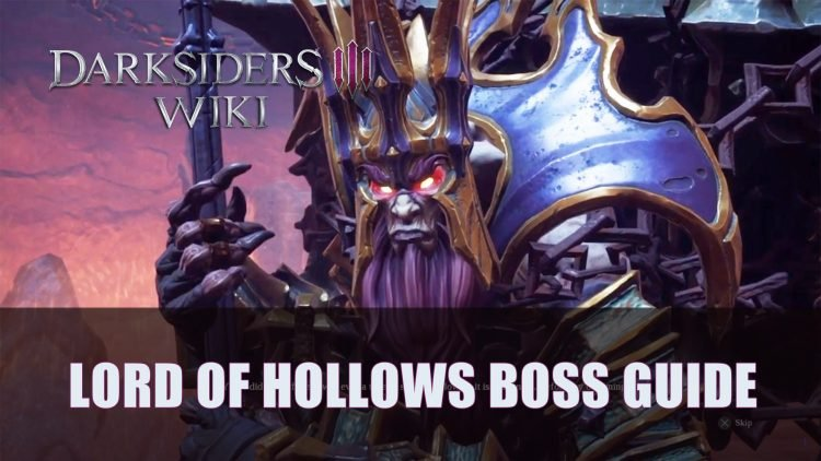 Darksiders 3: Lord of Hollows Boss Guide (Apocalyptic)