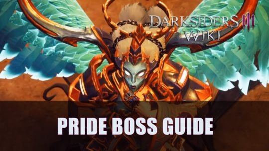 Darksiders 3: Pride Boss Guide (Apocalyptic)