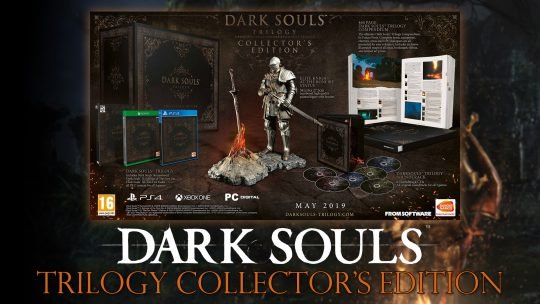 Dark Souls Trilogy: Collector's Edition will Cost £449/€499.99