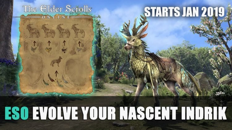 ESO: How to Evolve Your Nascent Indrik Mount