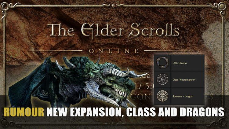 Elder Scrolls Online Could Have Just Confirmed Next Expansion