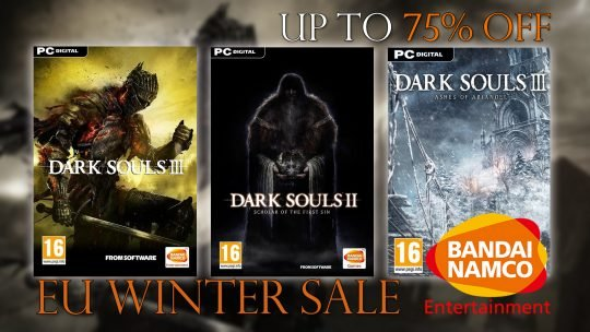 Bandai Namco EU Winter Sale Includes Darks Souls III, DLC and Emblem Collection