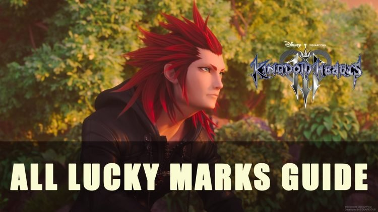 Kingdom Hearts 3: All Lucky Marks Guide