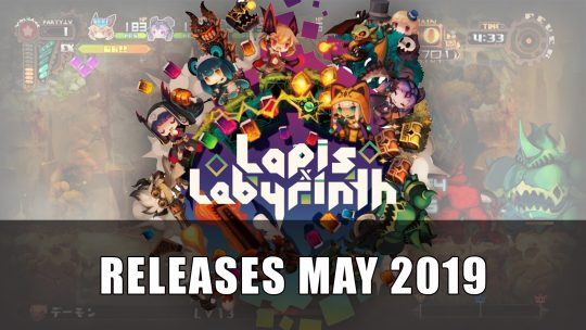 Lapis x Labyrinth Launches on May 28th in North America, May 31st in Europe