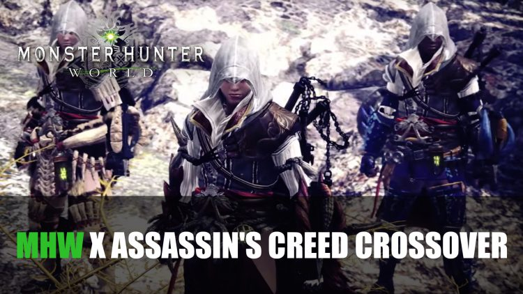 Monster Hunter World x Assassin's Creed Crossover Announced