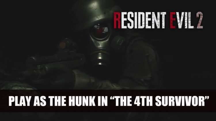 Resident Evil 2 New Trailer Features the Hunk Gameplay