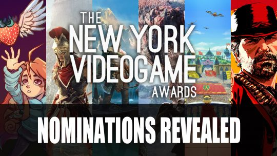 The New York Video Game Awards 2018 Nominations Revealed