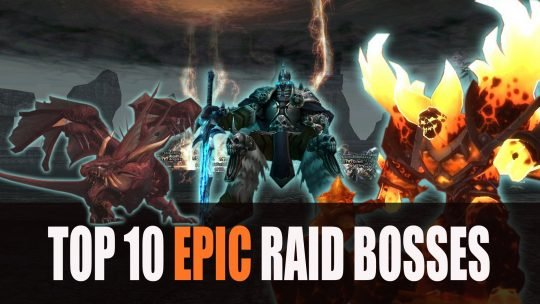 Top 10 Epic Raid Bosses in MMORPGs