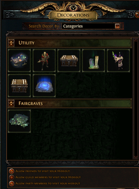 Path of Exile - Hideout, Masters and Master-Crafting Guide 2019