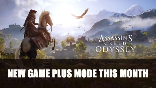 Assassin's Creed Odyssey New Game Plus Mode This Month