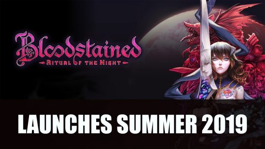 Bloodstained Ritual of the Night Releases Summer 2019
