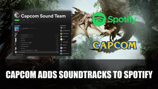 Capcom Adds Soundtracks from Monster Hunter, Devil May Cry, Mega Man and More to Spotify
