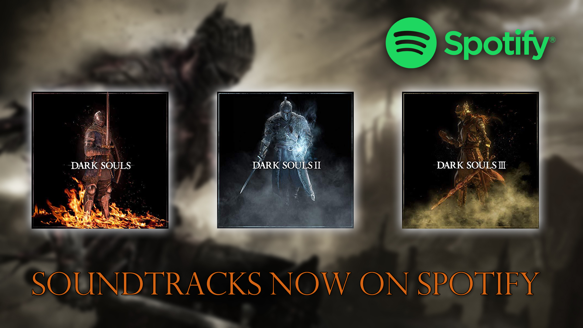 Find All Three Dark Souls Soundtracks Now on Spotify | Fextralife