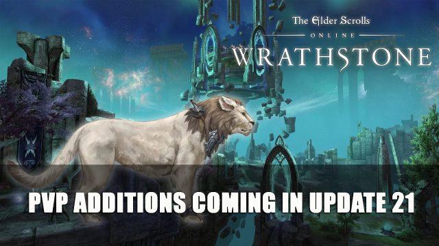 Elder Scrolls Online: PVP Additions Coming in Update 21