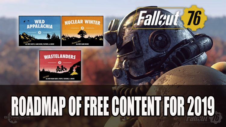 Bethesda Reveal Fallout 76 Roadmap of Free Content for 2019