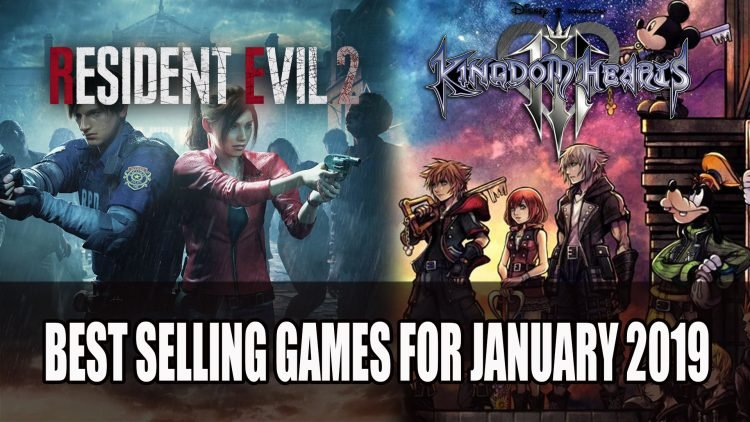 Kingdom Hearts 3 and Resident Evil 2 Make Best Selling Games for January 2019
