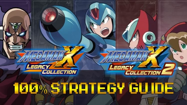Mega Man X Legacy Collection 1 & 2 100% Strategy Guide