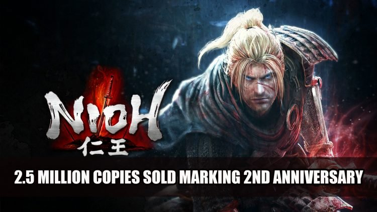Nioh Reaches Over 2.5 Million Copies Sold Worldwide