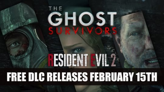 Resident Evil 2's Free Ghost Survivors DLC Releases on February 15th