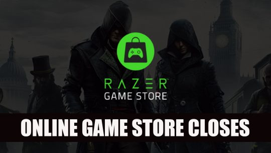 Razer's Game Store Closes After 10 Months