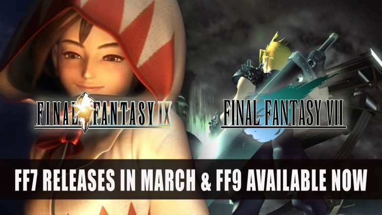 Final Fantasy VII Comes to Switch in March and Final Fantasy IX Launched Today