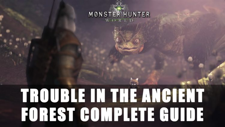 Monster Hunter World x The Witcher Contract: Trouble in the