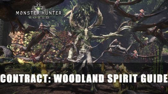 Monster Hunter World X The Witcher Contract: Woodland Spirit Guide